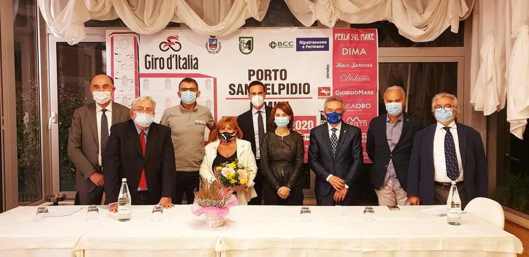 Giro d'Italia 2020, le autorità di Porto Sant'Elpidio alla presentazione della tappa