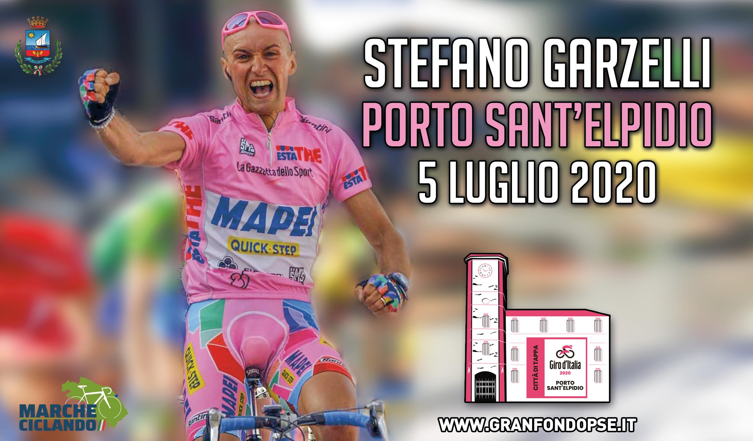 Locandina Granfondo Porto Sant'Elpidio-Stefano Garzelli: slittamento al 13 aprile, giorno di Pasquetta